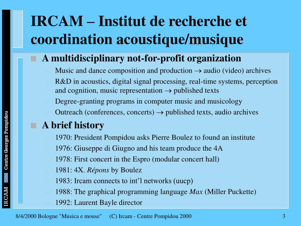 IRCAM –
