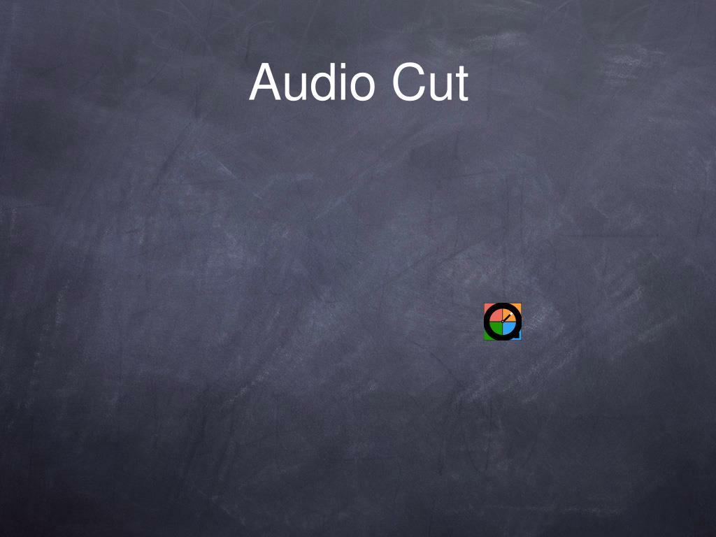 Audio Cut