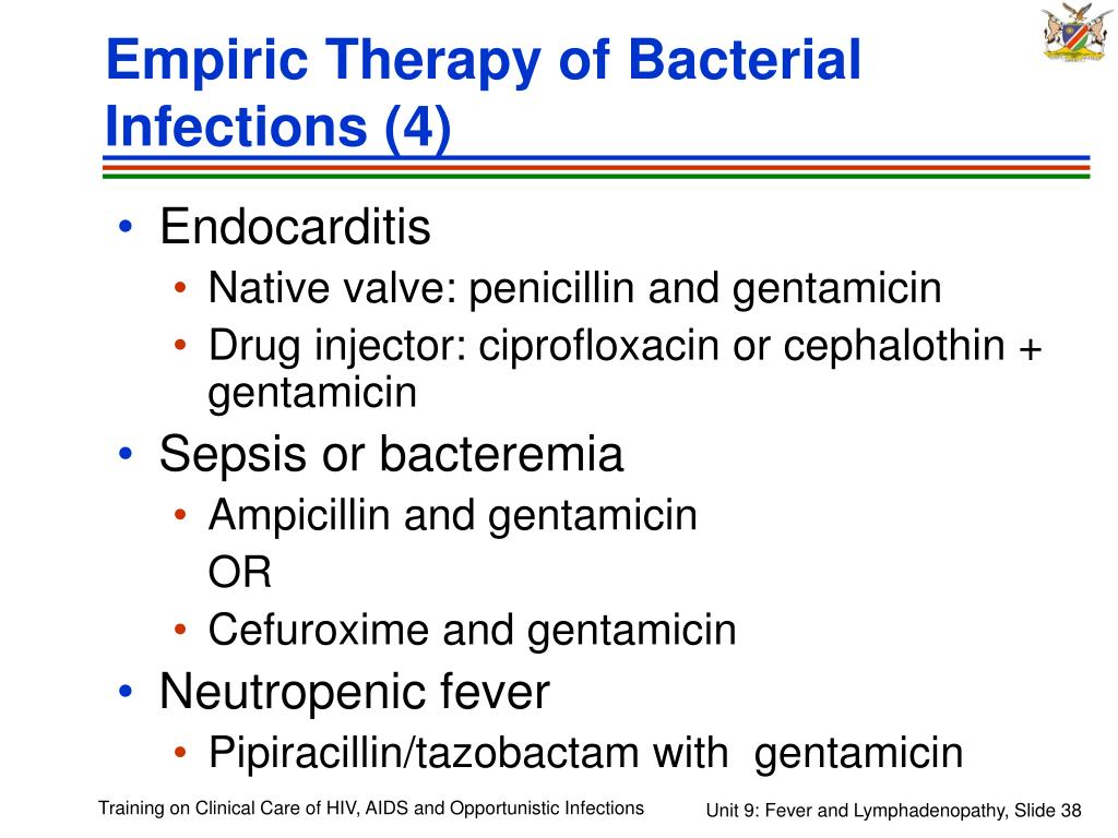 Empiric Therapy of Bacterial Infections (4)
