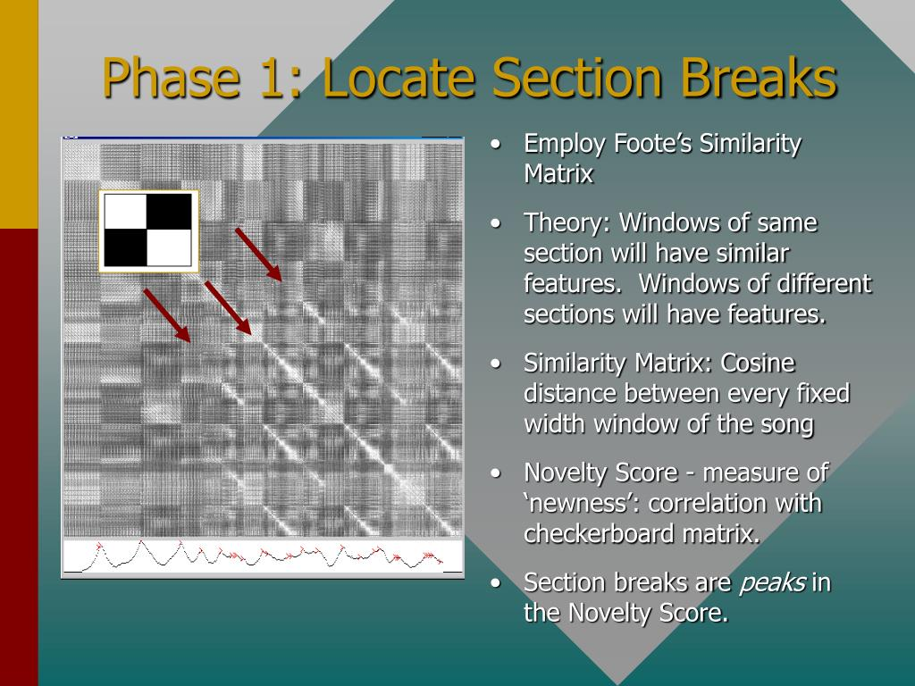 Phase 1: Locate Section Breaks