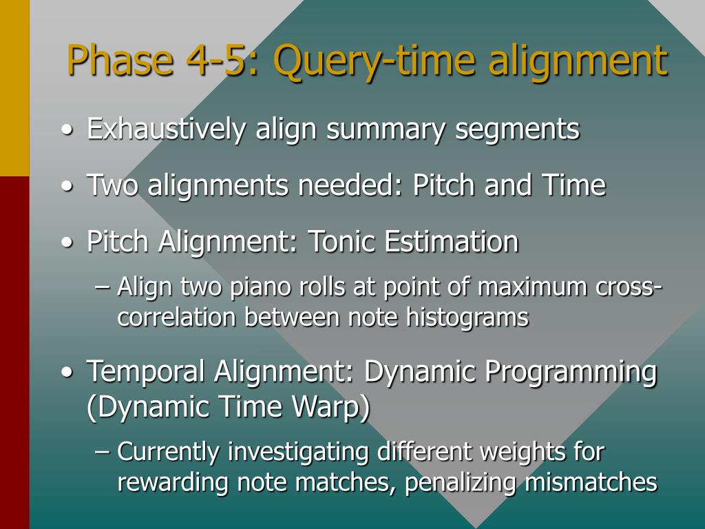 Phase 4-5: Query-time alignment