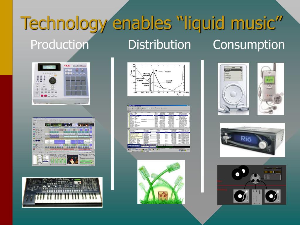 "Technology enables ""liquid music"""