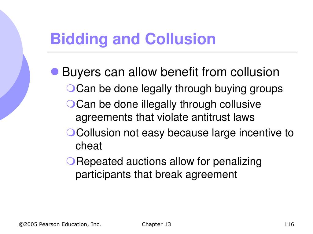 Bidding and Collusion