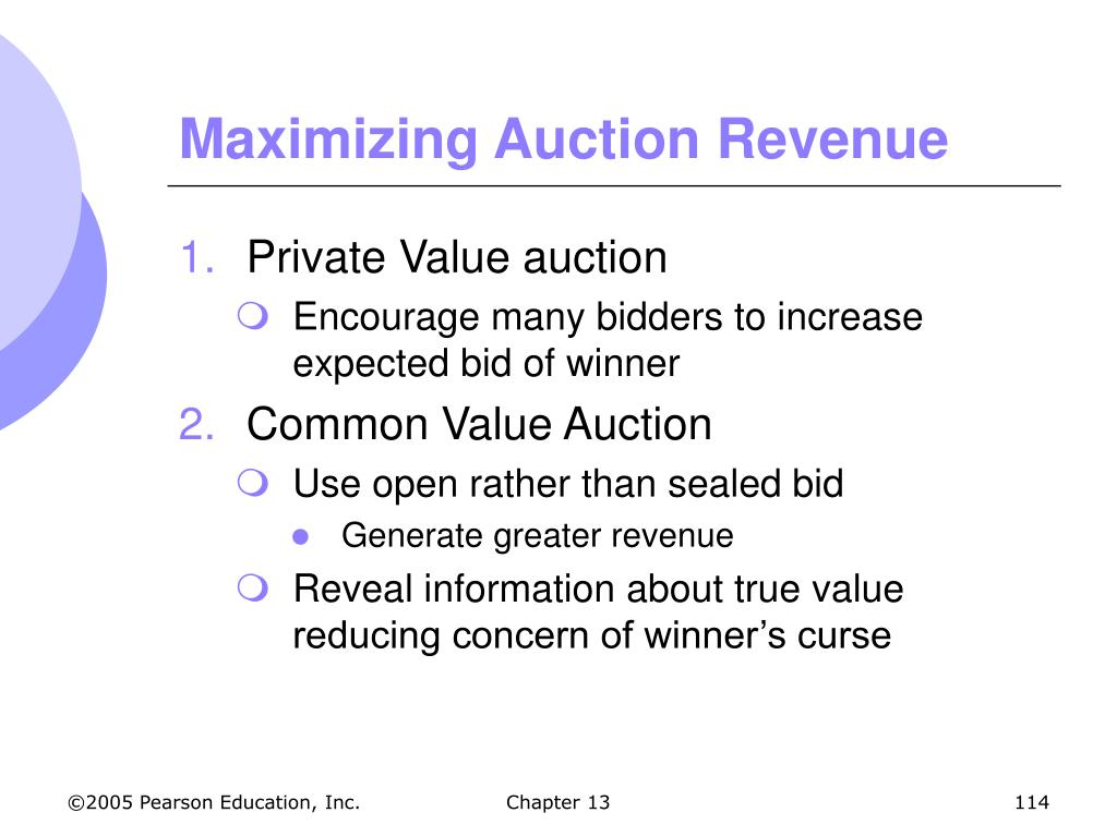 Maximizing Auction Revenue