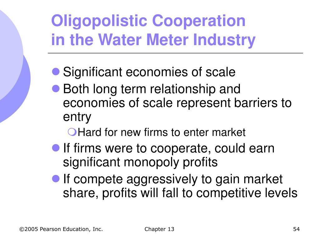 Oligopolistic Cooperation