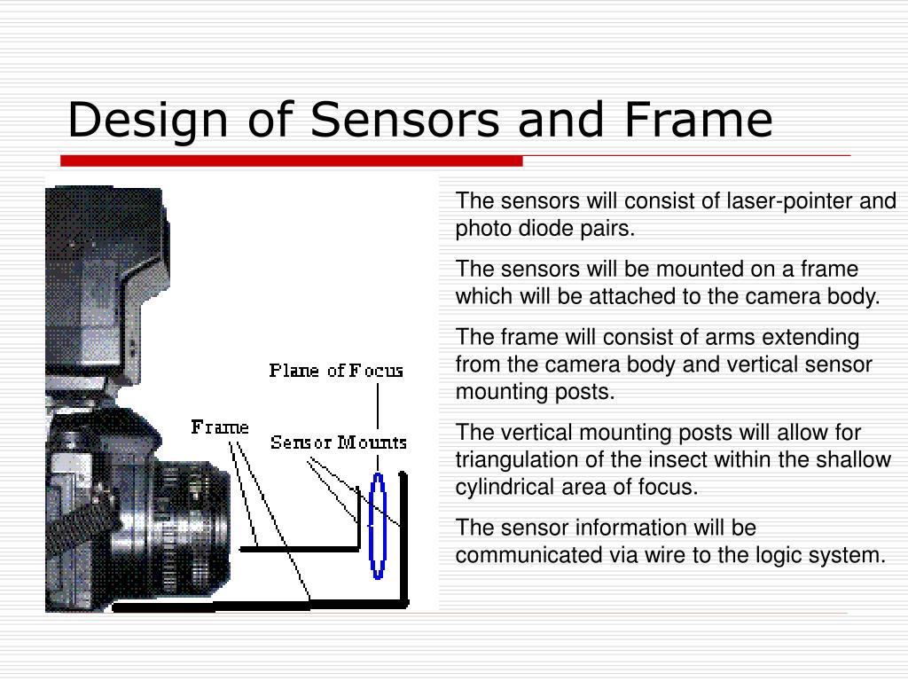 Design of Sensors and Frame