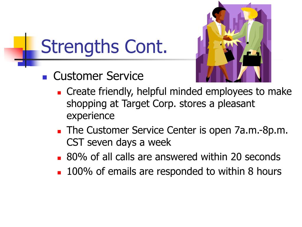 Strengths Cont.
