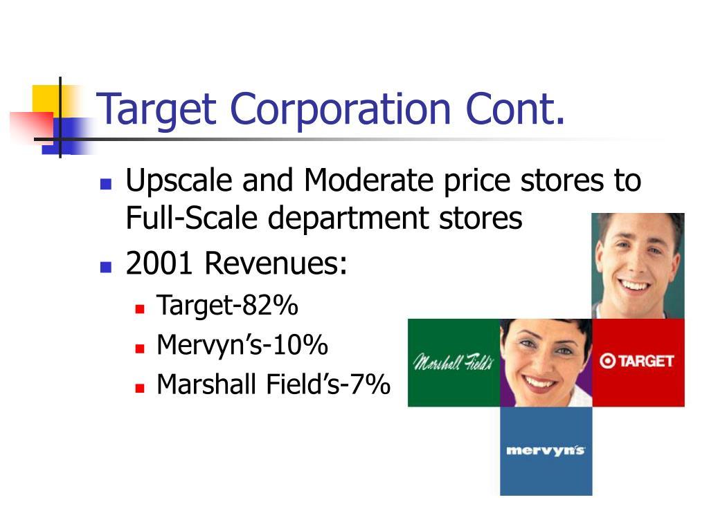 Target Corporation Cont.