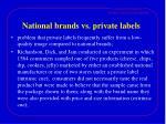 national brands vs private labels