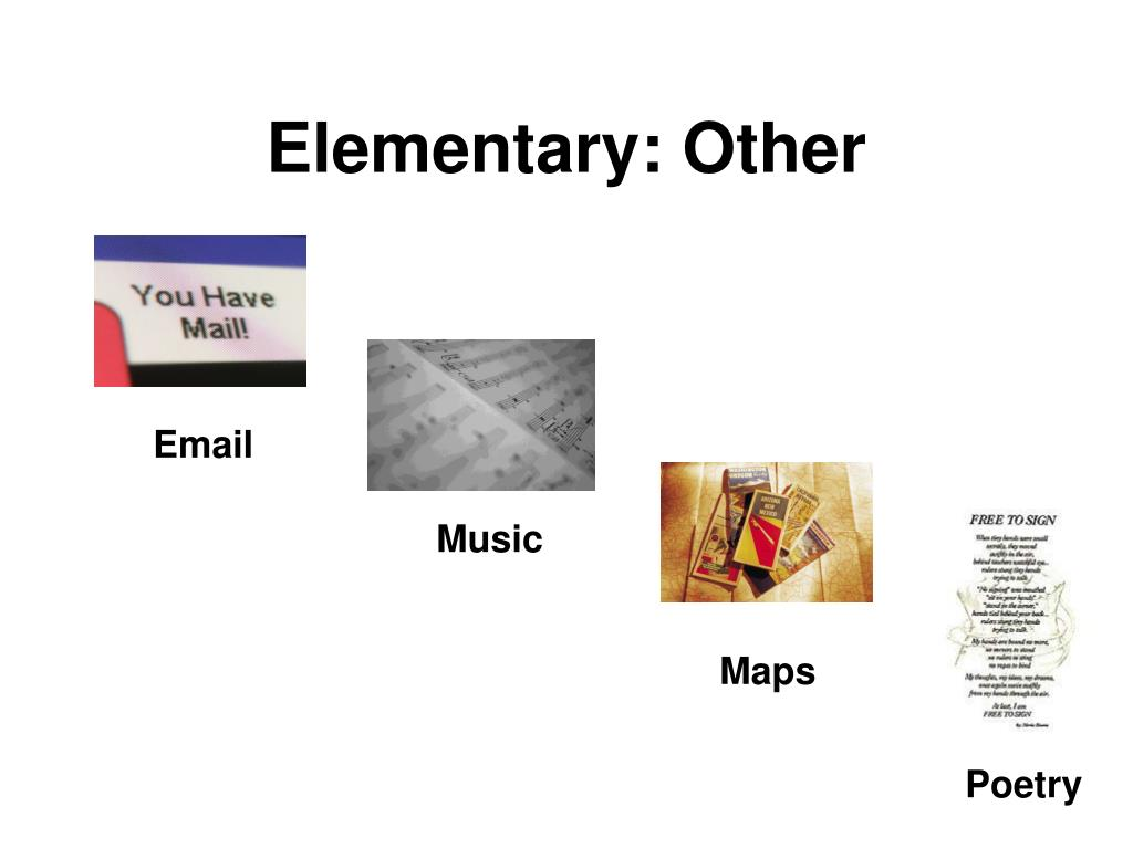 Elementary: Other