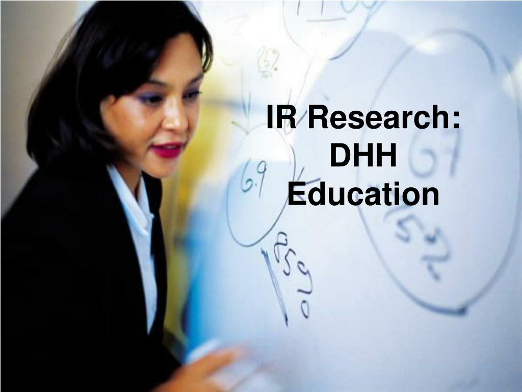 IR Research: