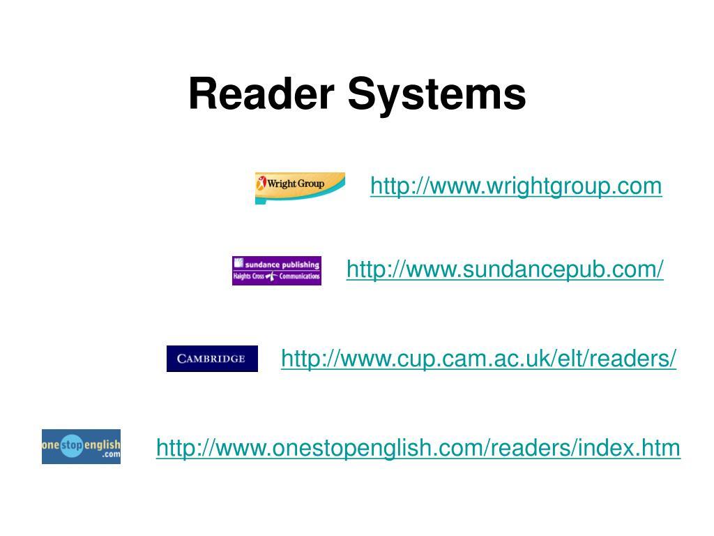 Reader Systems