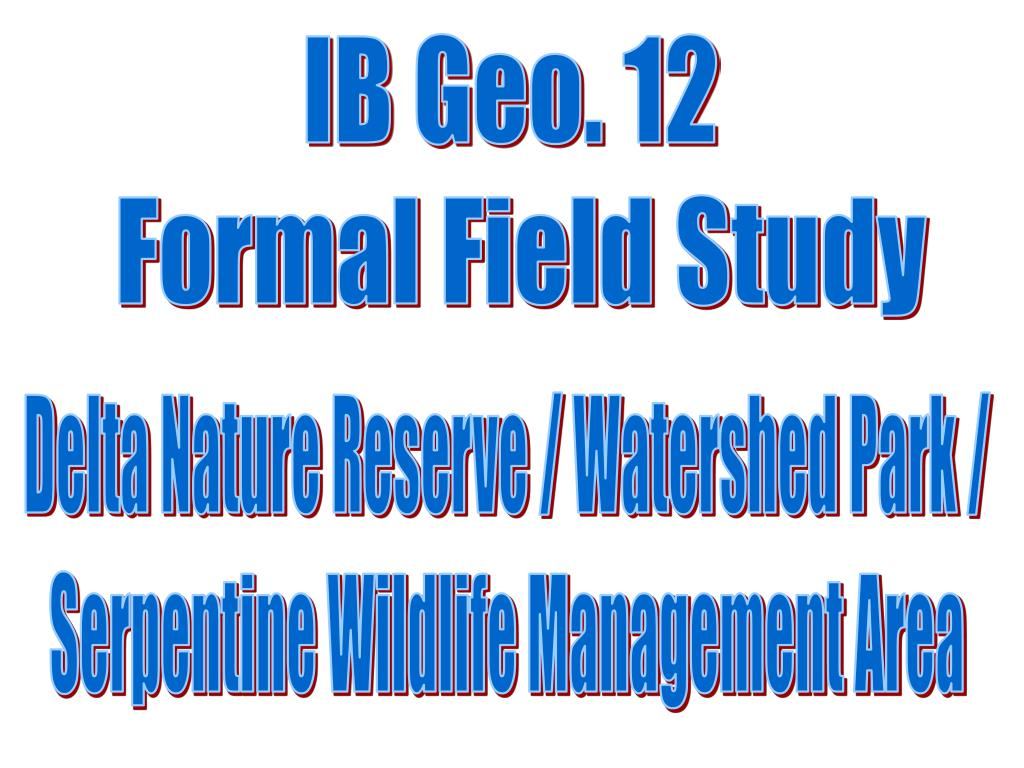 IB Geo. 12