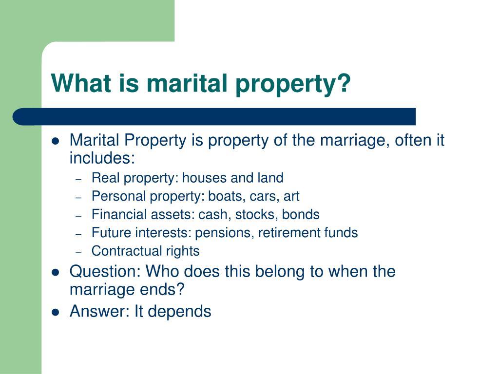 texas marital property laws