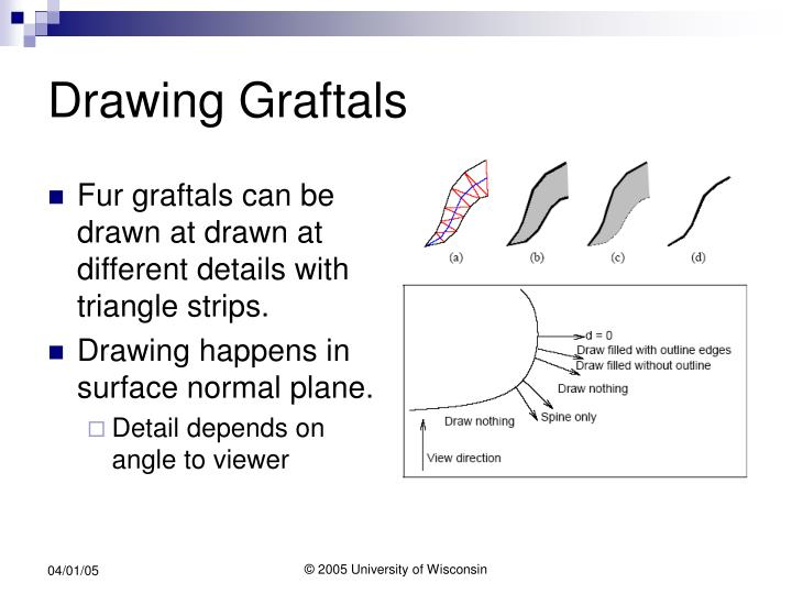 Drawing Graftals