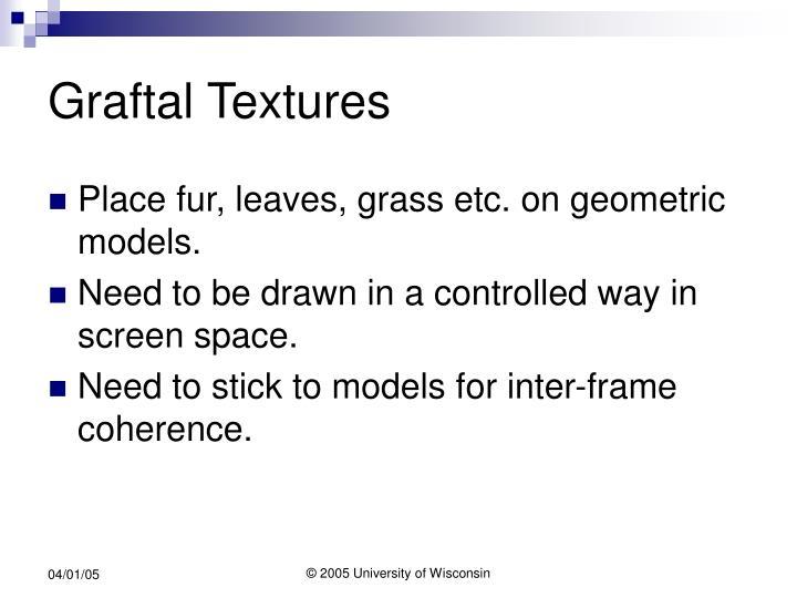 Graftal Textures