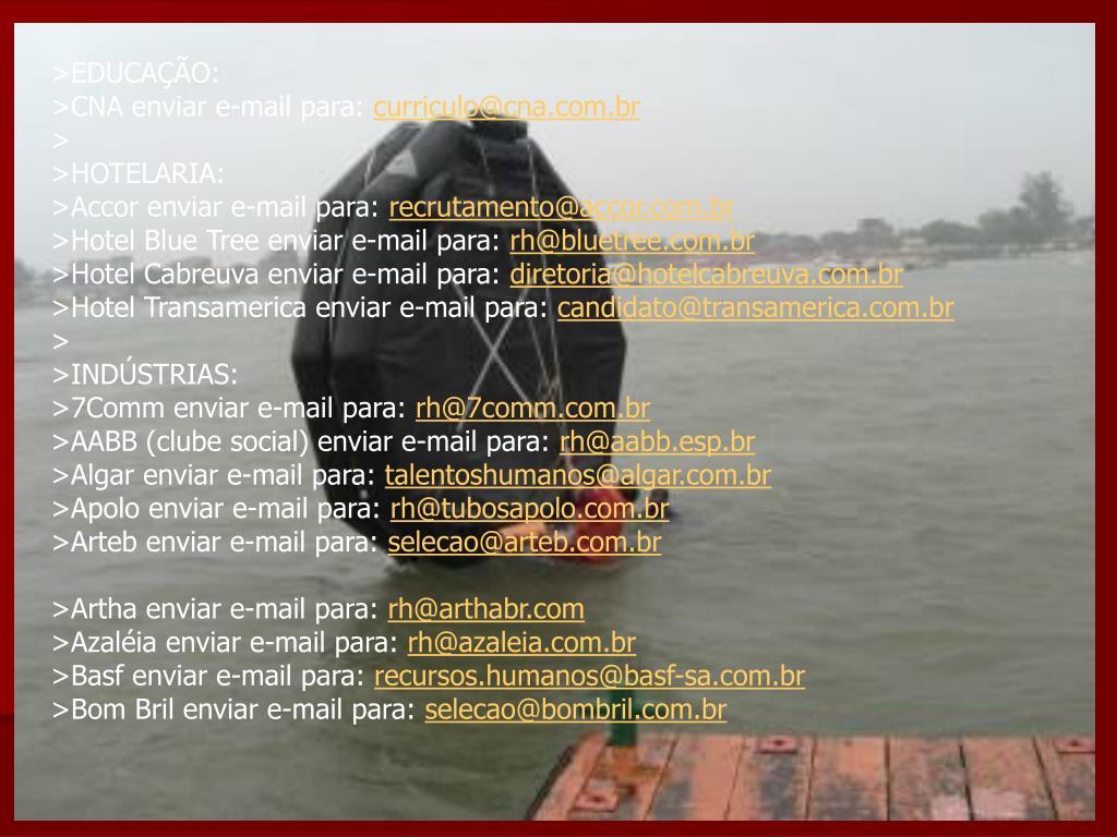 >EDUCAÇÃO: