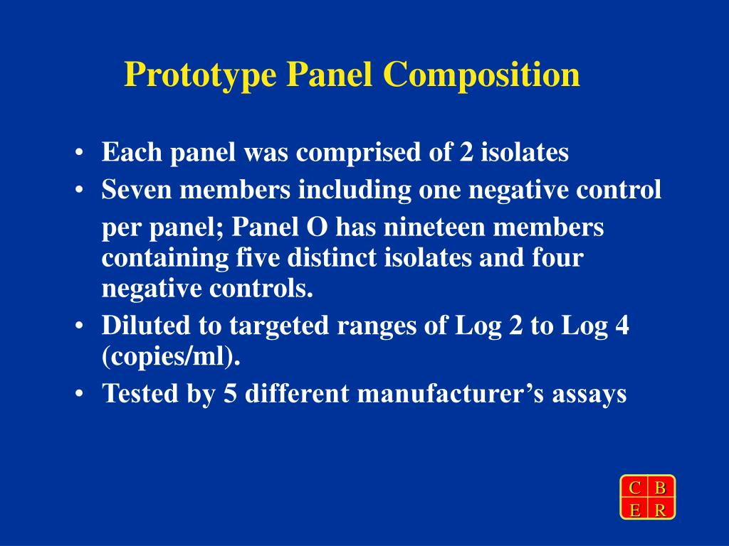Prototype Panel Composition