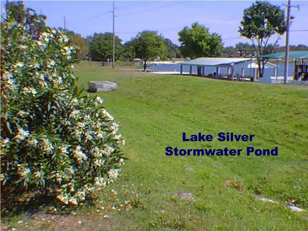 Lake Silver Stormwater Pond