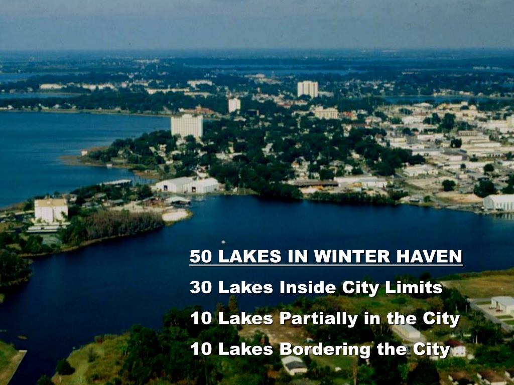 50 LAKES IN WINTER HAVEN