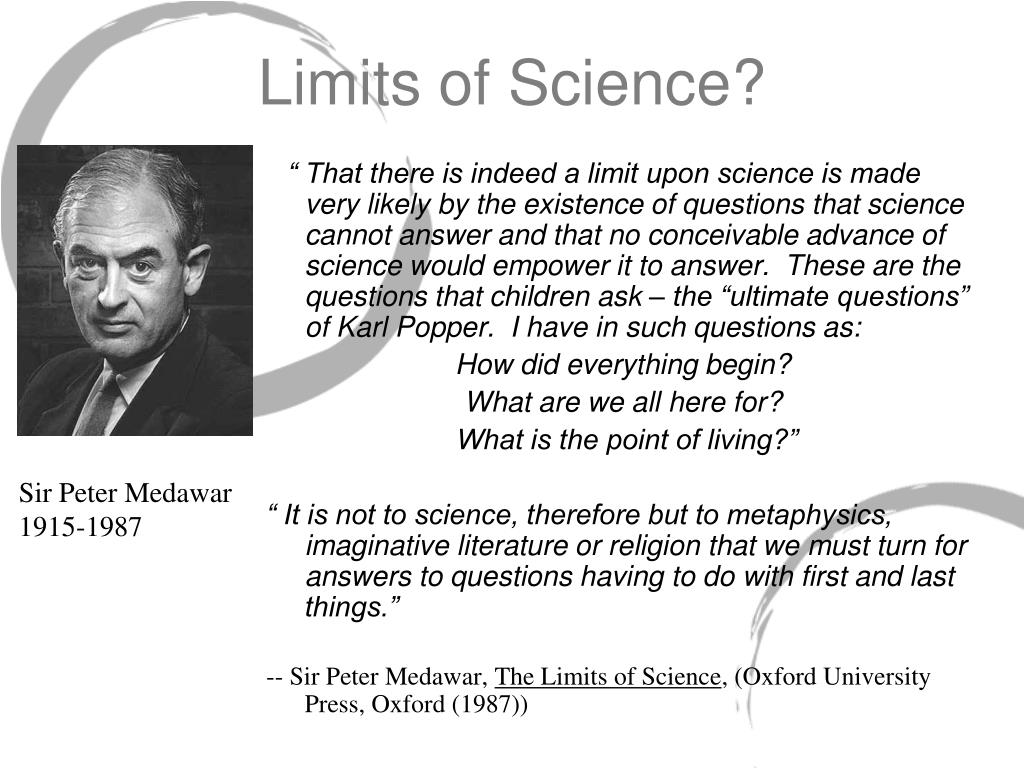 Limits of Science?