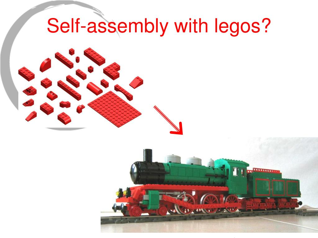 Self-assembly with legos?