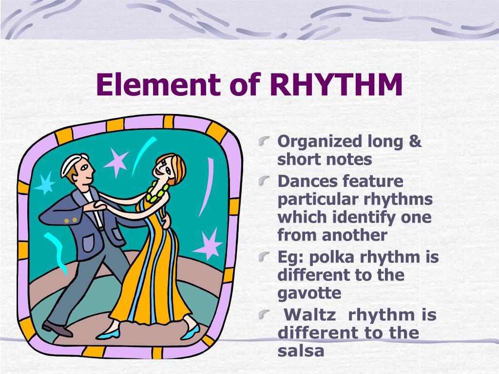 Element of RHYTHM