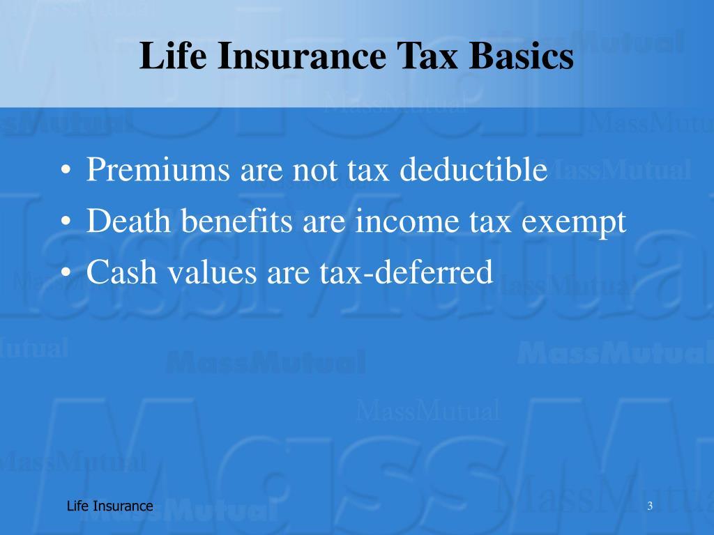 Life Insurance Tax Basics