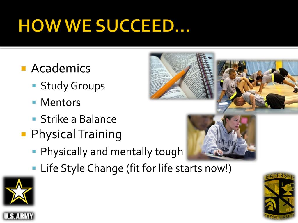 HOW WE SUCCEED…