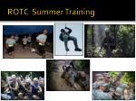 rotc summer training