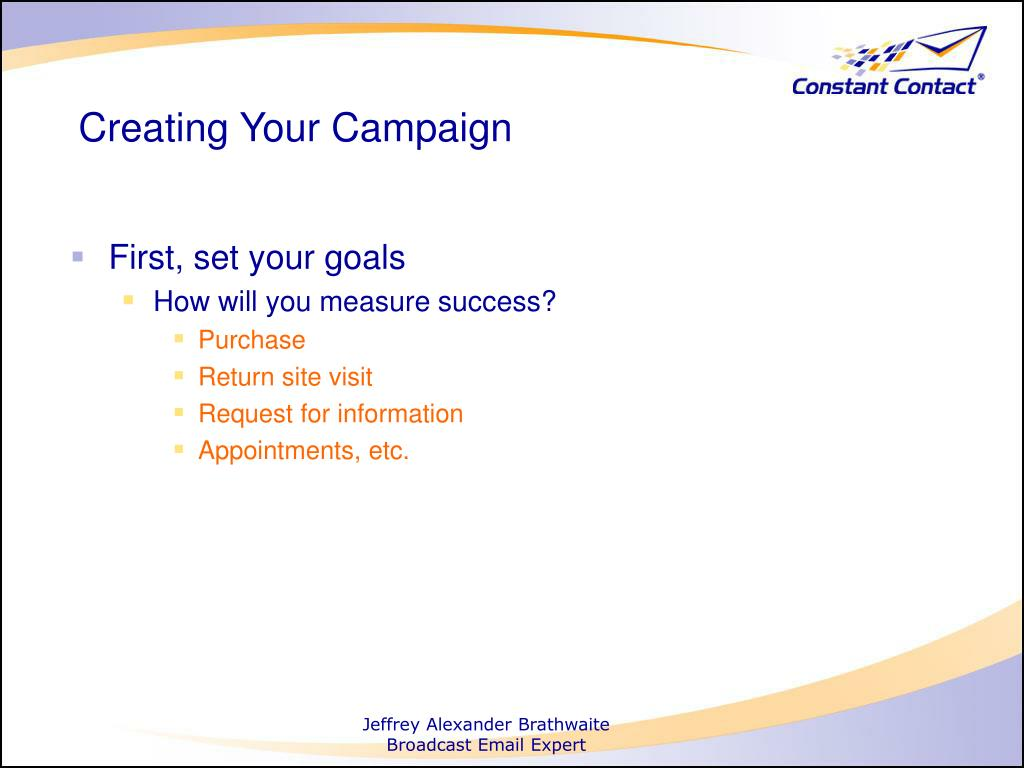 Creating Your Campaign