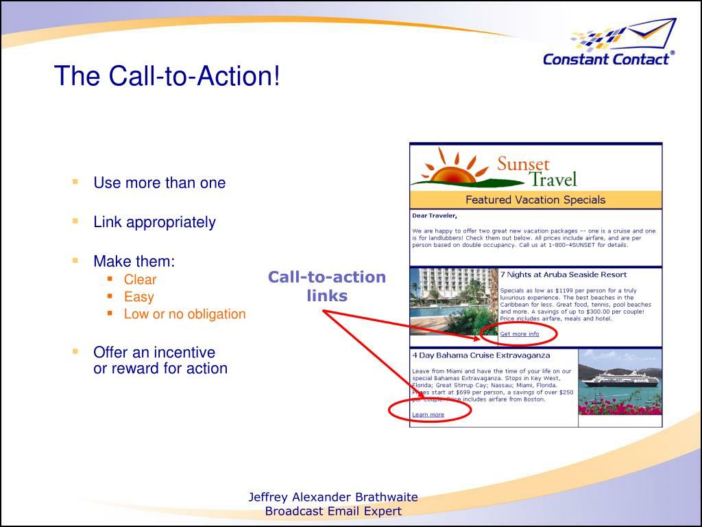 Call-to-action links