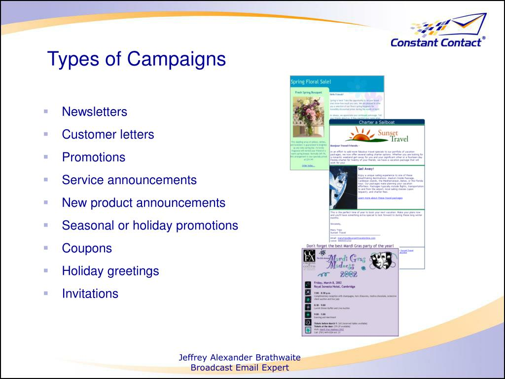 Types of Campaigns