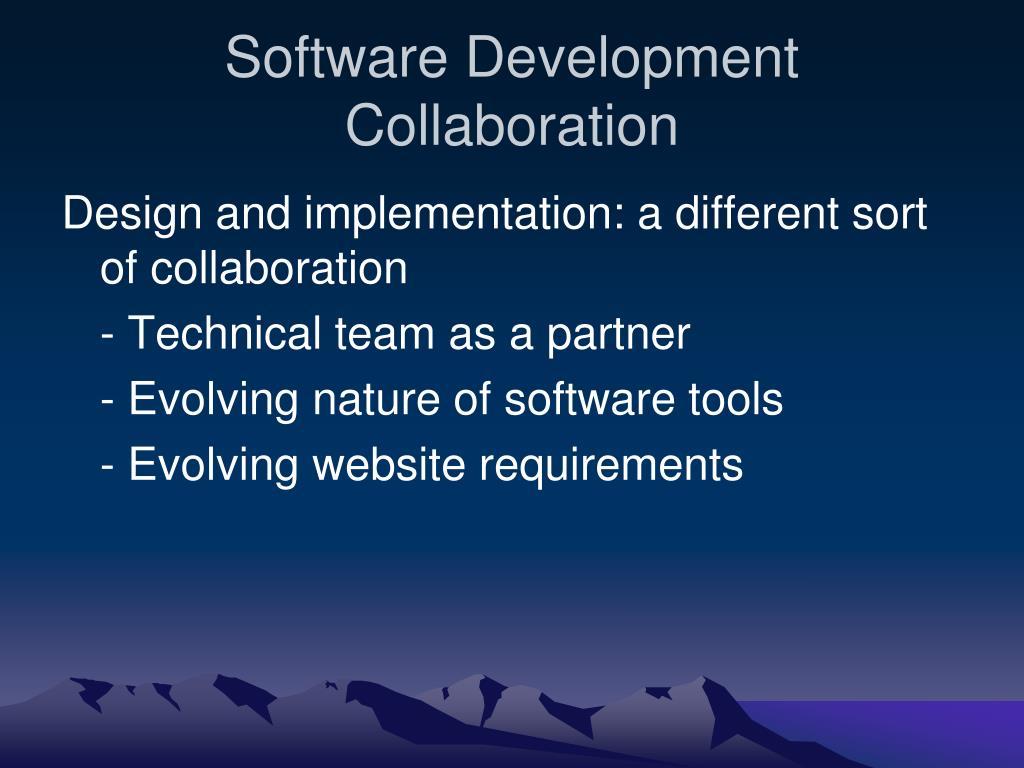 Software Development Collaboration