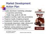 market development action plan