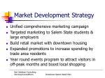 market development strategy