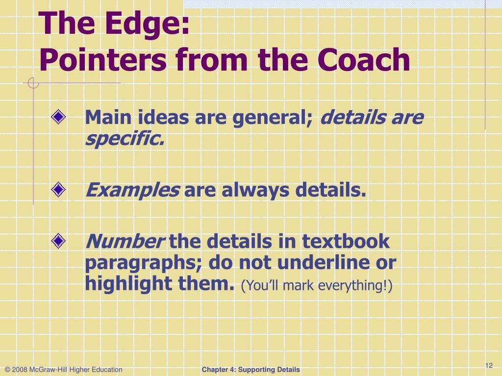 The Edge: