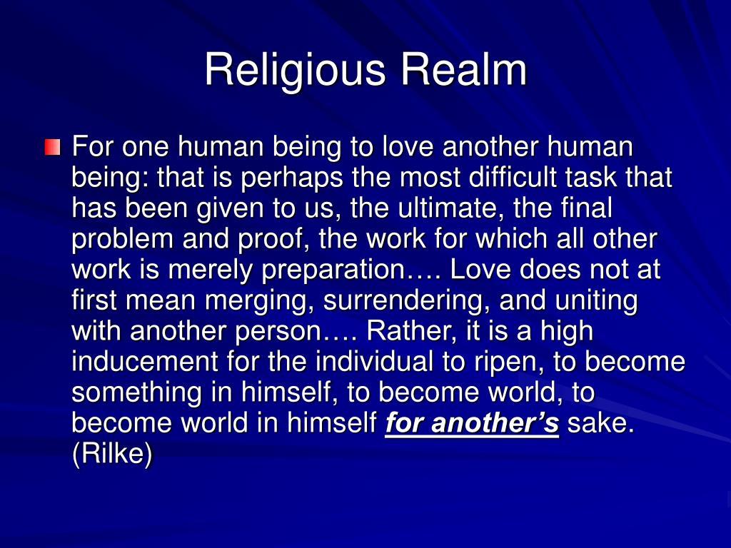 Religious Realm