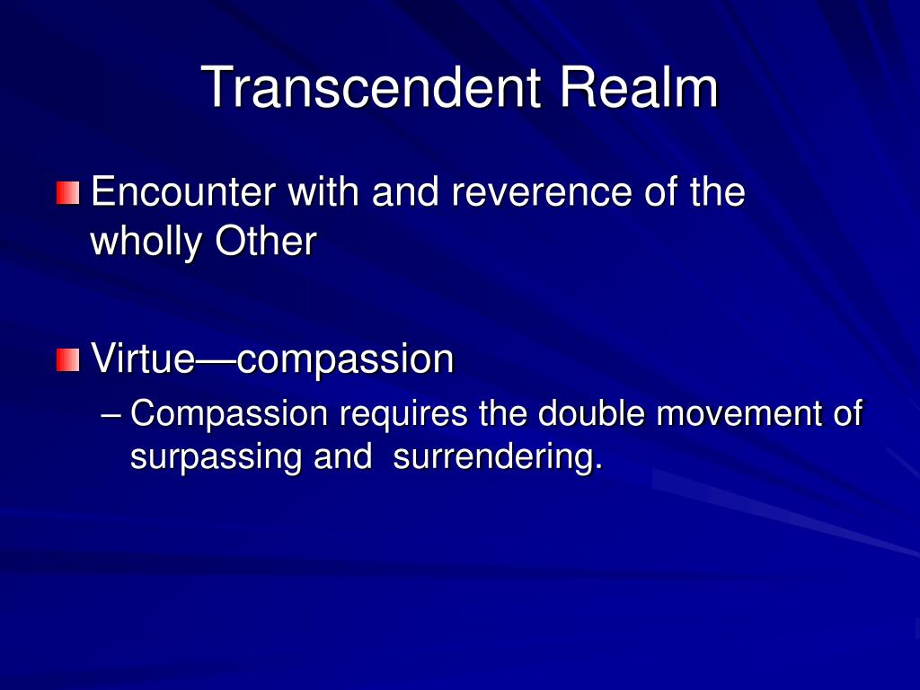 Transcendent Realm
