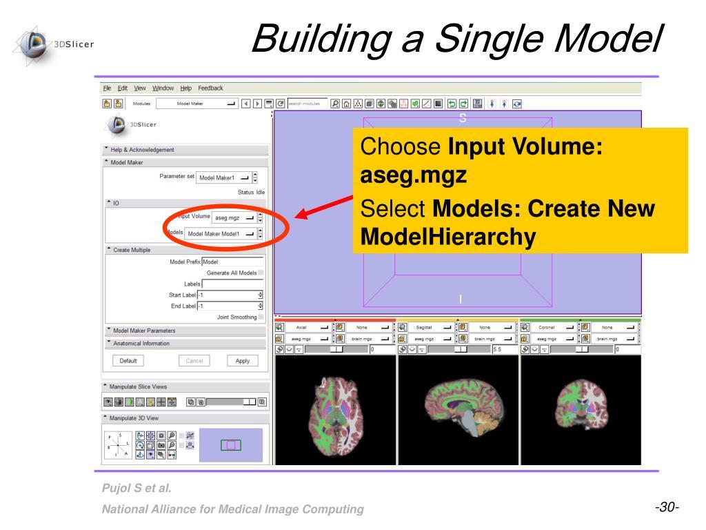Building a Single Model