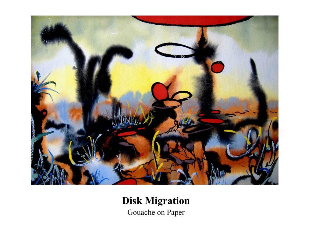 Disk Migration