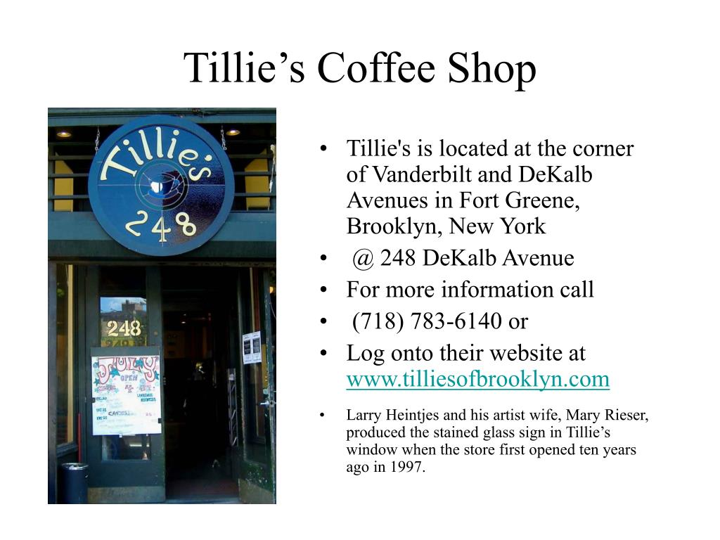 Tillie's Coffee Shop