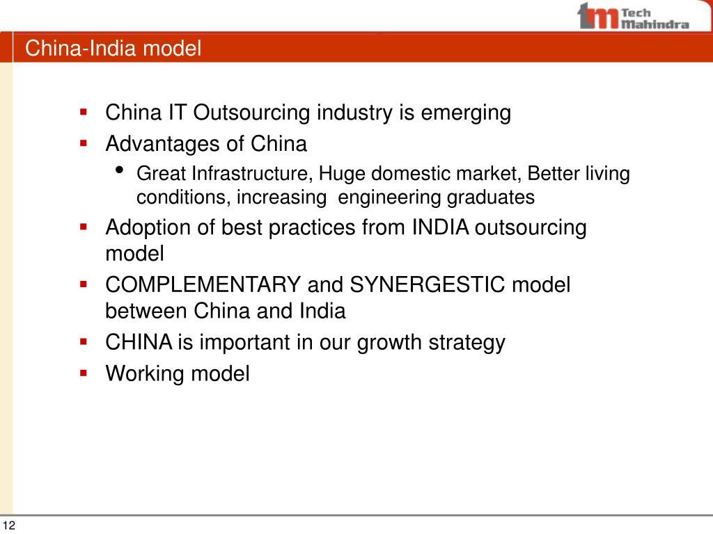 China-India model
