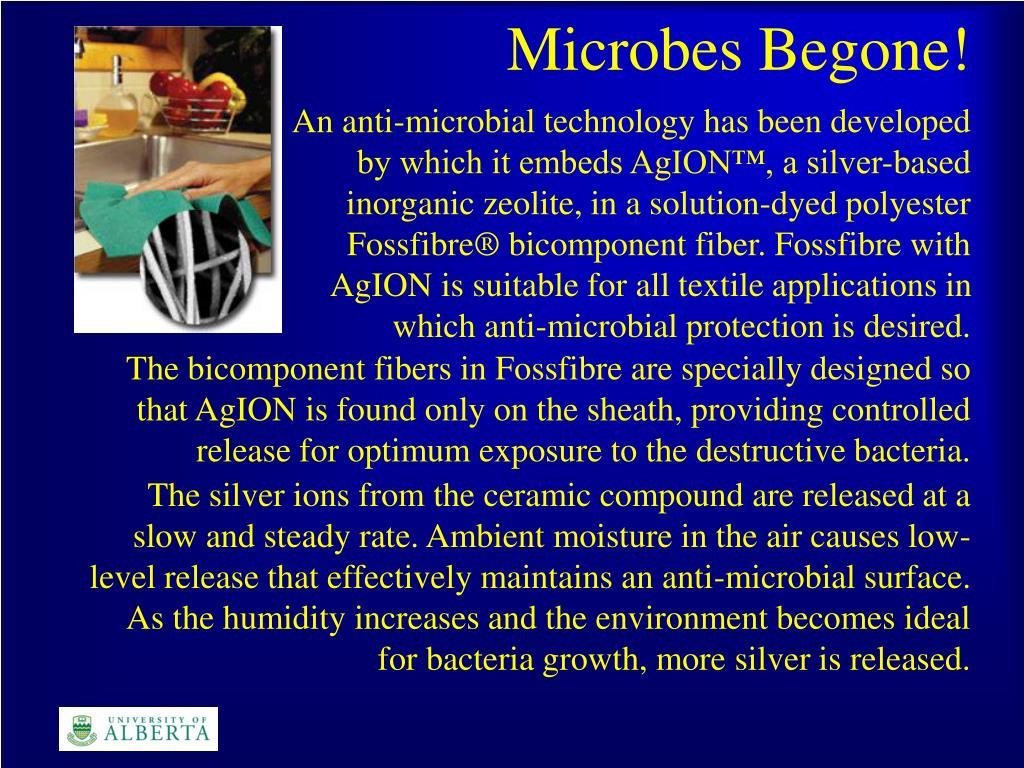 Microbes Begone!