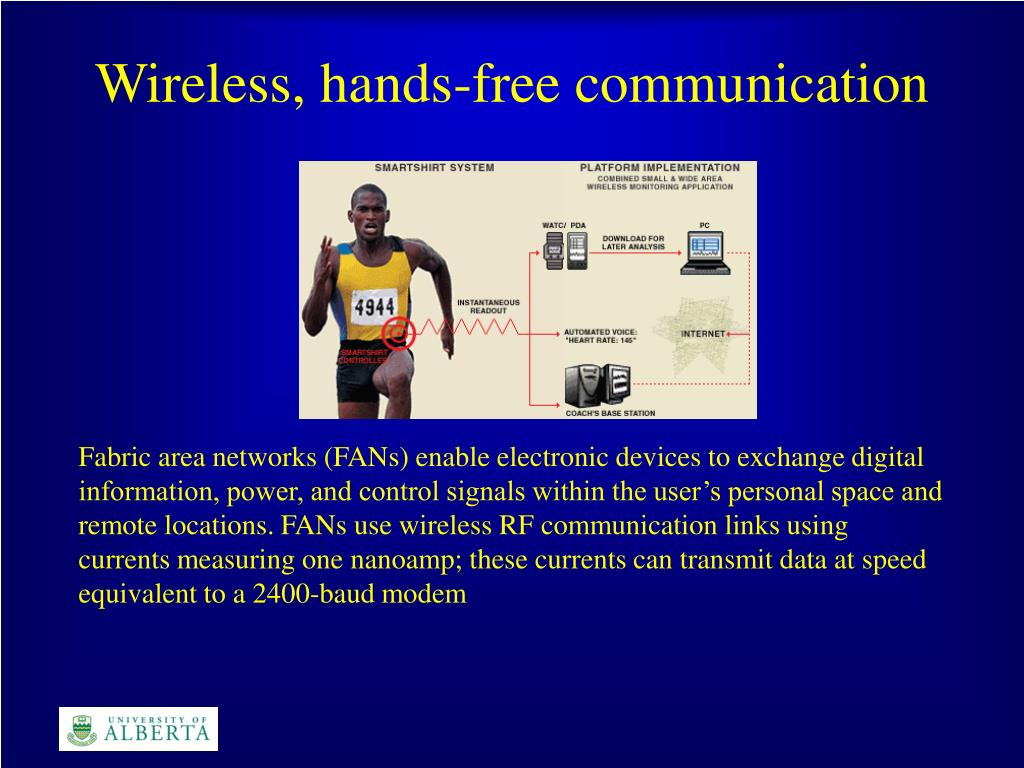 Wireless, hands-free communication