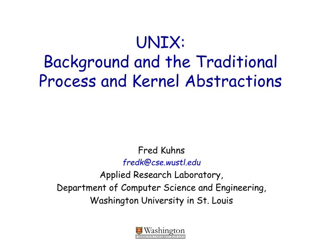 UNIX: