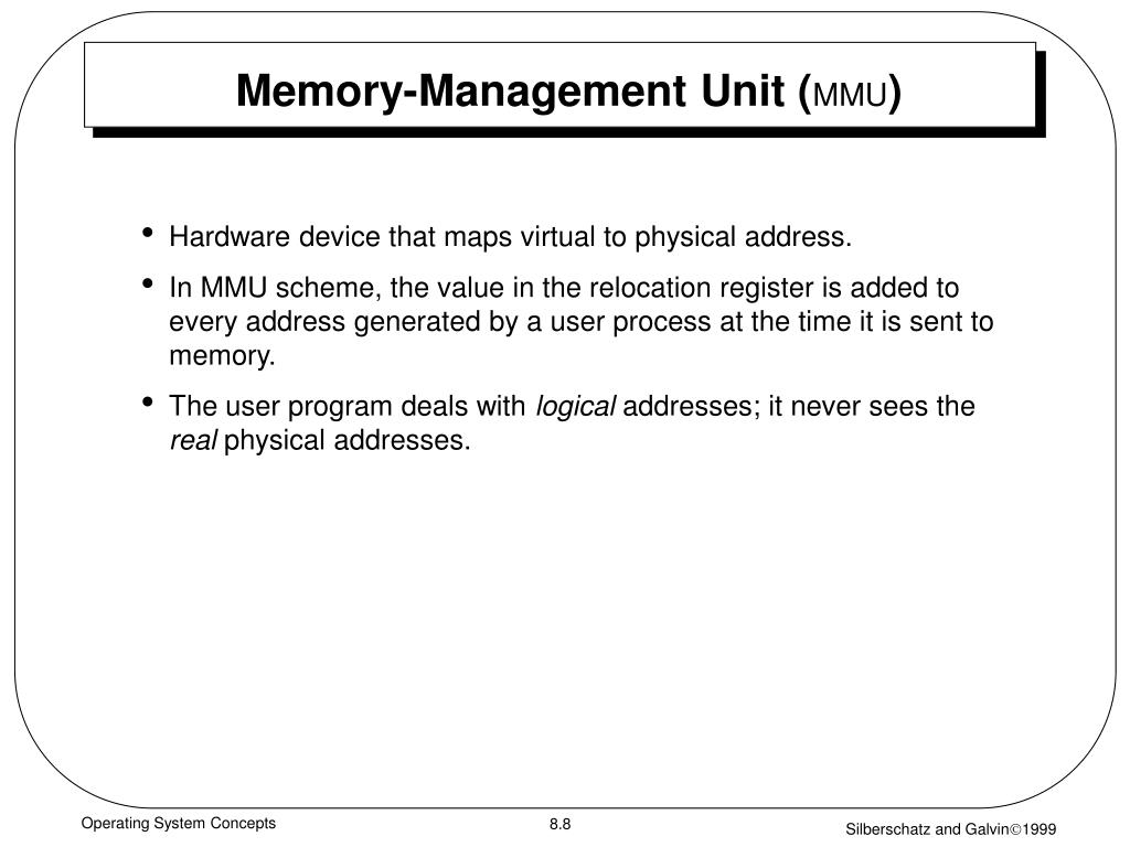 Memory-Management Unit (
