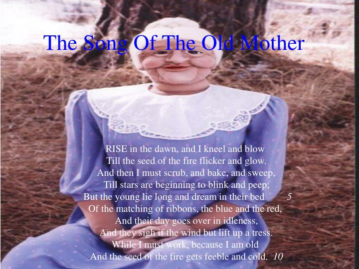 The song of the old mother l.jpg