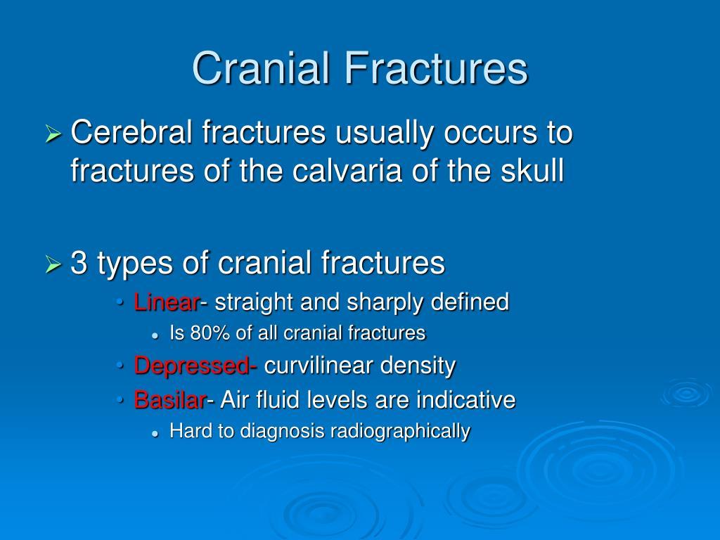 Cranial Fractures