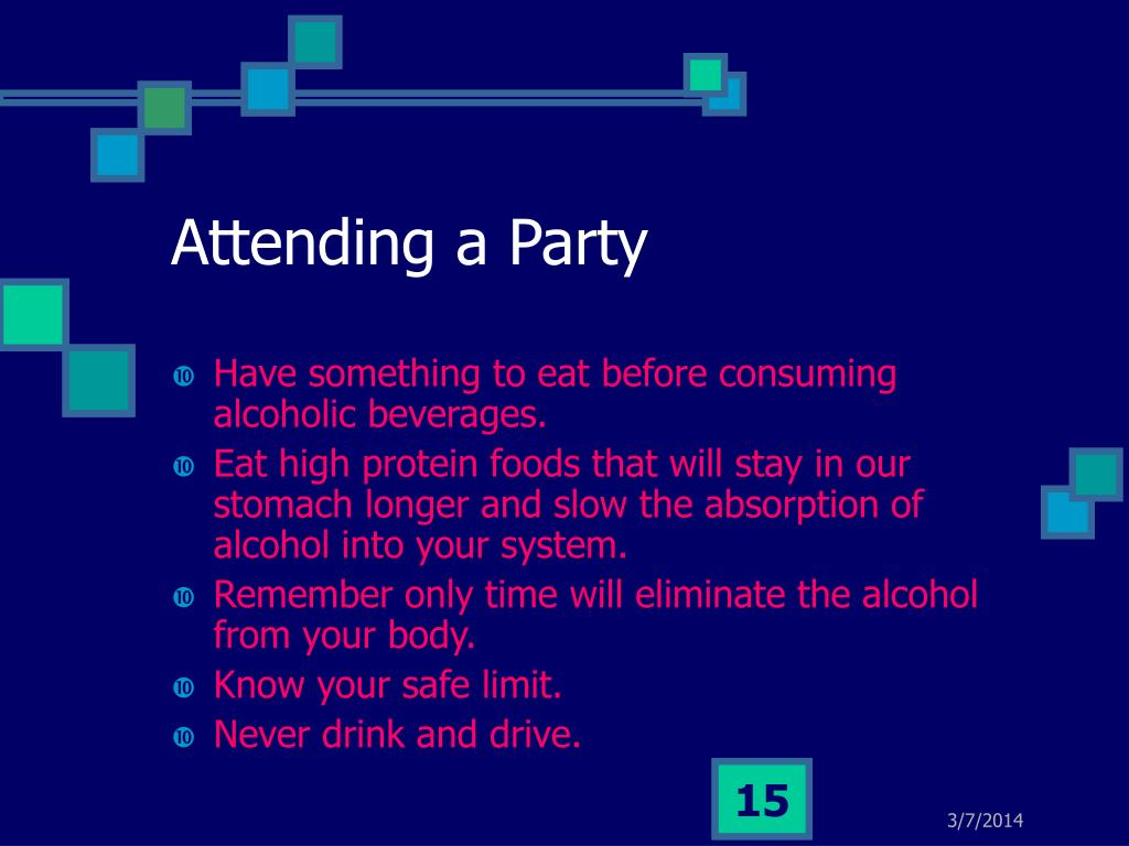 Attending a Party